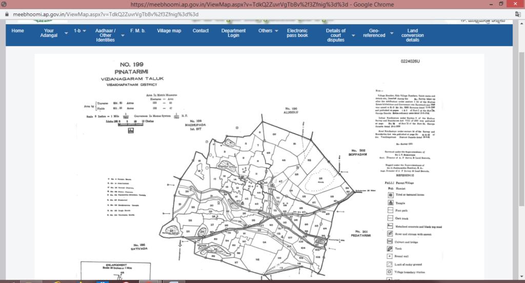 Mee-Bhoomi-Portal-Andhra-Pradesh-Map