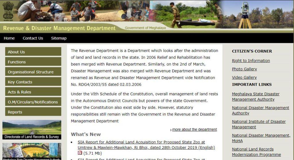 Meghalaya Land Records