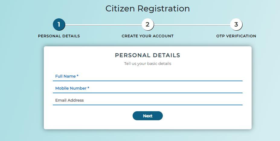 Banglarbhumi-Portal-Citizen-Registration