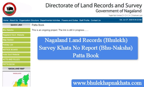 Patta-Books-Nagaland-Land-Records-Bhu-Naksha