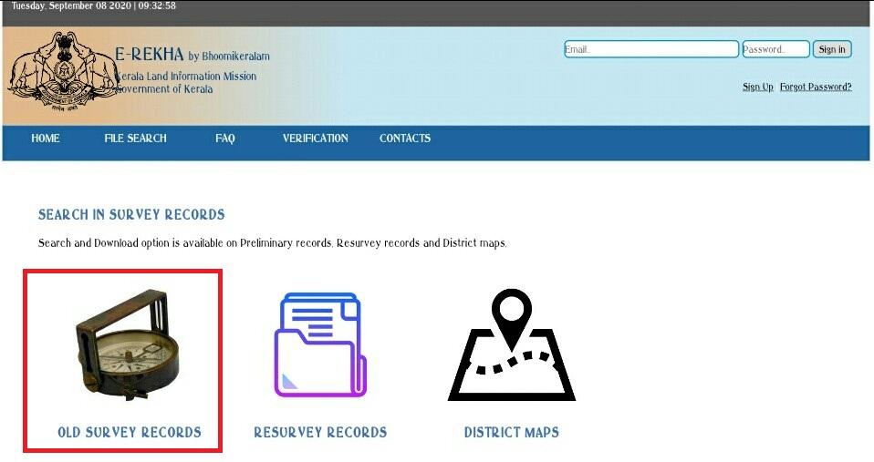 E-Rekha-Old-Survey-Land-Records